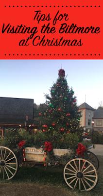 Biltmore Village at Christmas