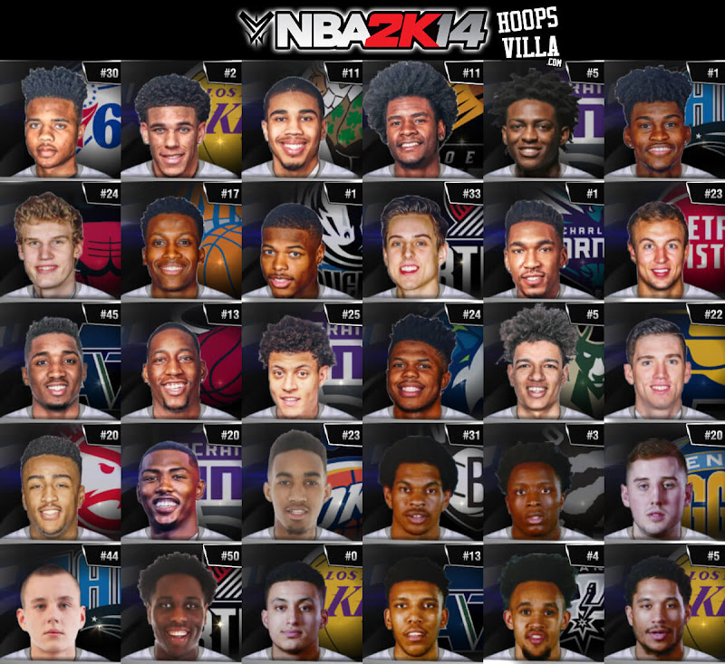 NBA 2k14 Roster update - July 4, 2017 - HoopsVilla (2016-17 Final Update)