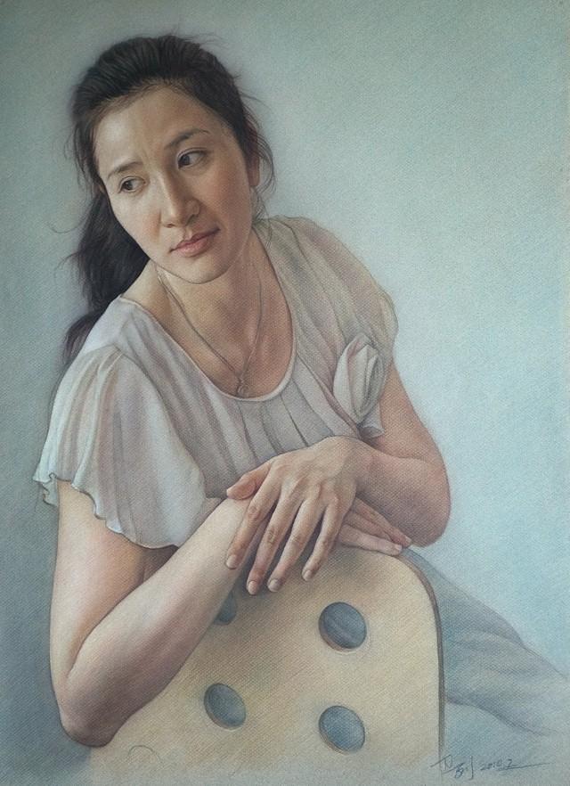 Карандашные портреты. William Wu 4