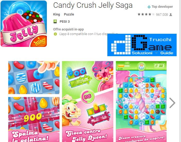 Trucchi  Candy Crush Jelly Saga Mod Apk Android v1.33.4