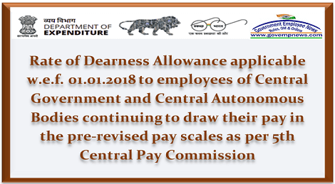 revised-dearness-allowance-to-emp-drawing-5cpc-pay-govempnews