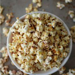 Receta para preparar popcorn con naranja y miel