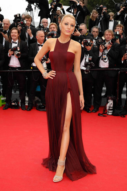Blake Lively celebrity dress cannes