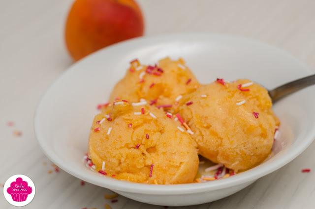 Sorbet à l'abricot - avec ou sans sorbetière - Régalades en cascade