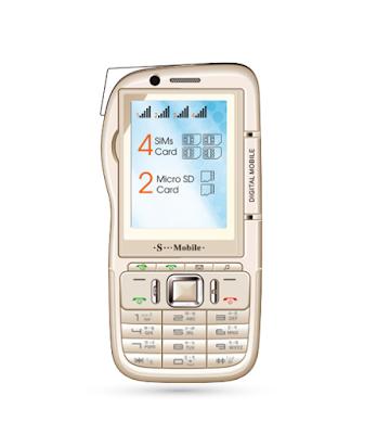 điện thoại 4 sim smobile V2