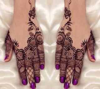 Mehandi designs for fingers
