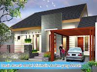 Desain Rumah Model Minimalis Modern yang Mewah
