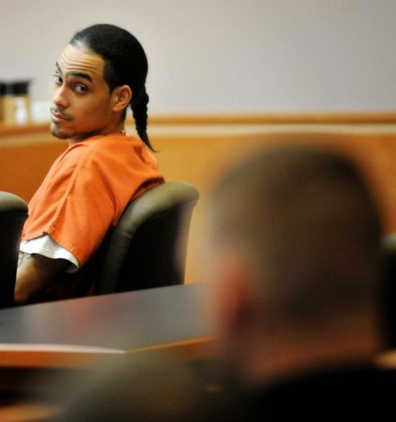 Convicted felon Myles Webster in court