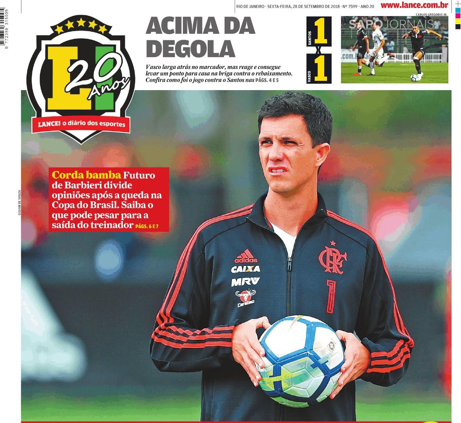 O Flamengo divulgou nota em seu site oficial na manhã desta sexta-feira  (29) anunciando a demissão do técnico Maurício Barbieri. A saída acontece  dois dias ... 5df69cf7f569b