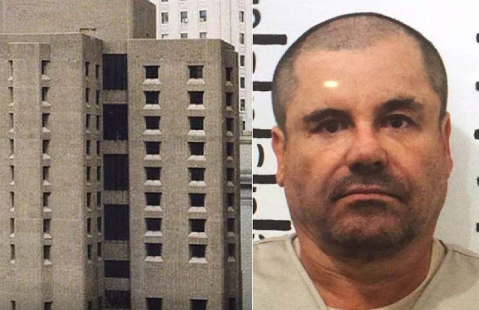 """""""El Chapo"""" pide al juez poder salir al aire libre y que le permita comprar suficiente agua embotellada."""