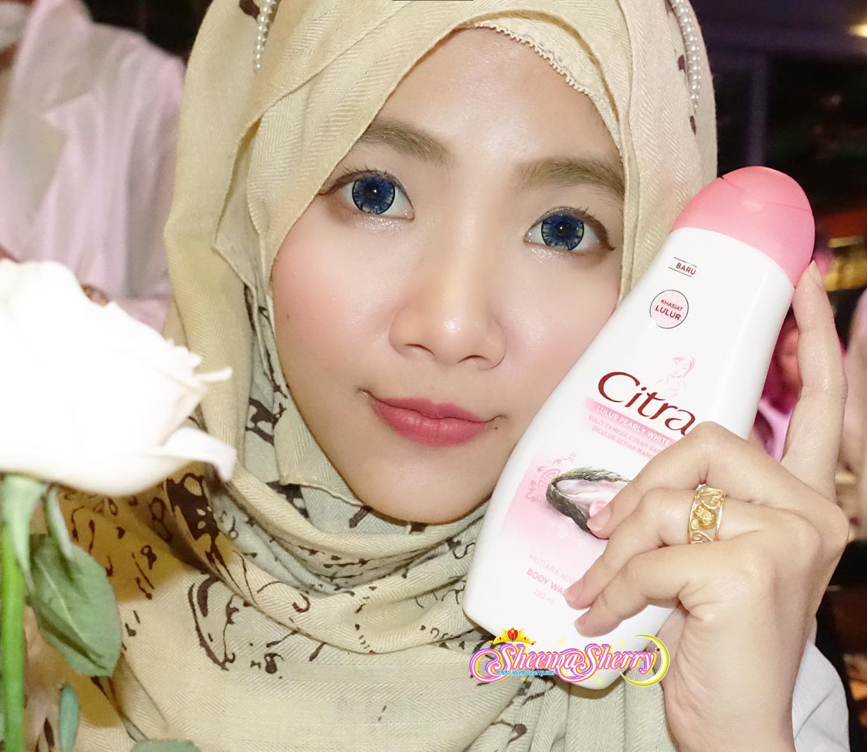 [REVIEW] Citra Body Wash 'Sabun Lulur', Perawatan Kecantikan Kulit Favorit Baru di Rumah Indonesia Sheema Sherry Kawaii Hijabi Murah Harum Halal Muslimah Muslim Mutiara Korea Beras Jepang Beras Jepang Pemutih Kulit Memutihkan Melembabkan Menghaluskan Melembutkan