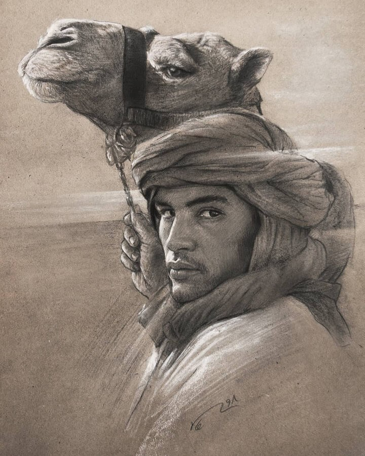 08-The-camel-and-the-owner-Mohammad-S-Neghabi‌-www-designstack-co