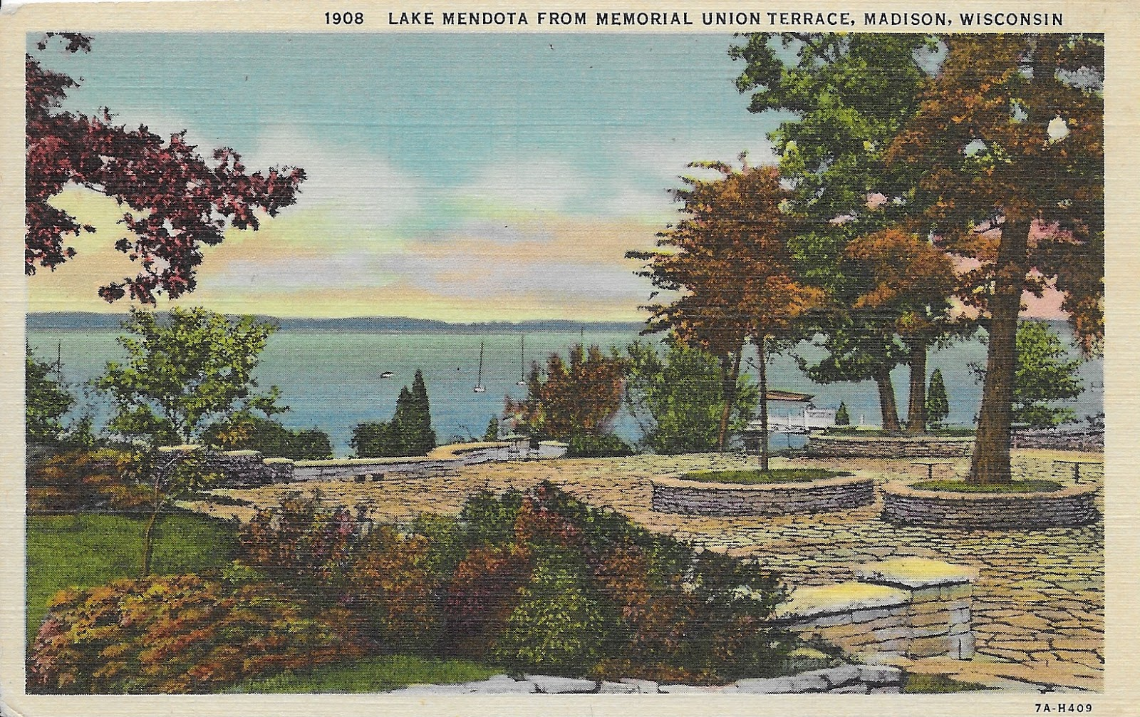 Retiring guy 39 s digest then and now lake mendota from for Madison terrace