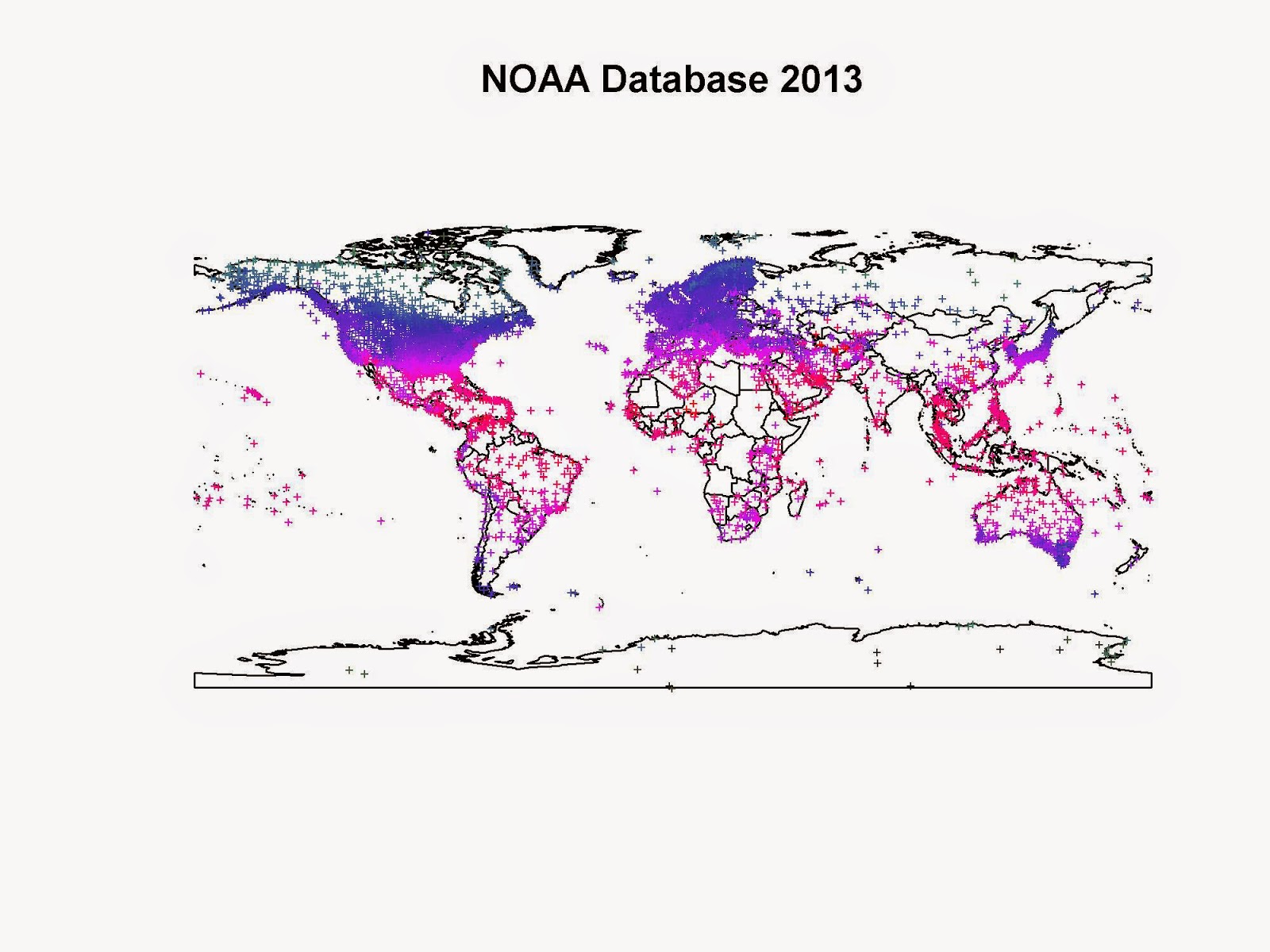 Accessing, cleaning and plotting NOAA Temperature Data