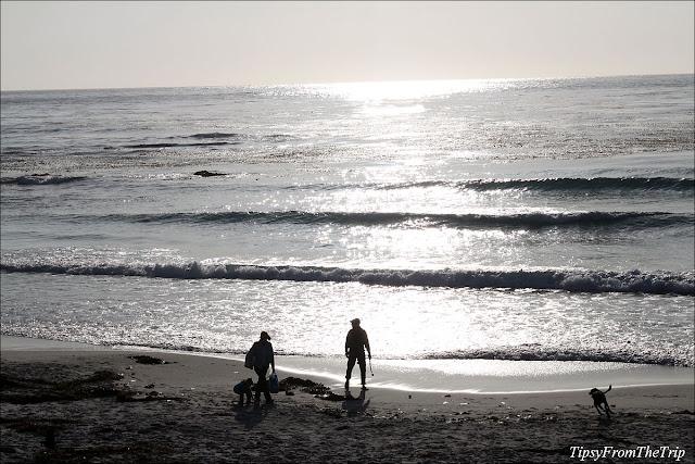 Carmel City Beach, Carmel, California.