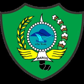 Logo Kabupaten Maros PNG
