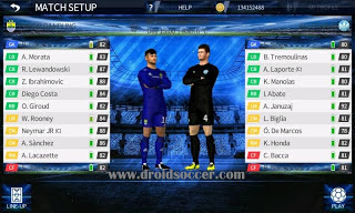 DLS 17 Mod UEFA Champions League Apk + Data OBB Terbaru