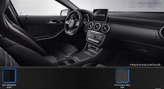 Mercedes A250 2016 màu nội thất Đen 651