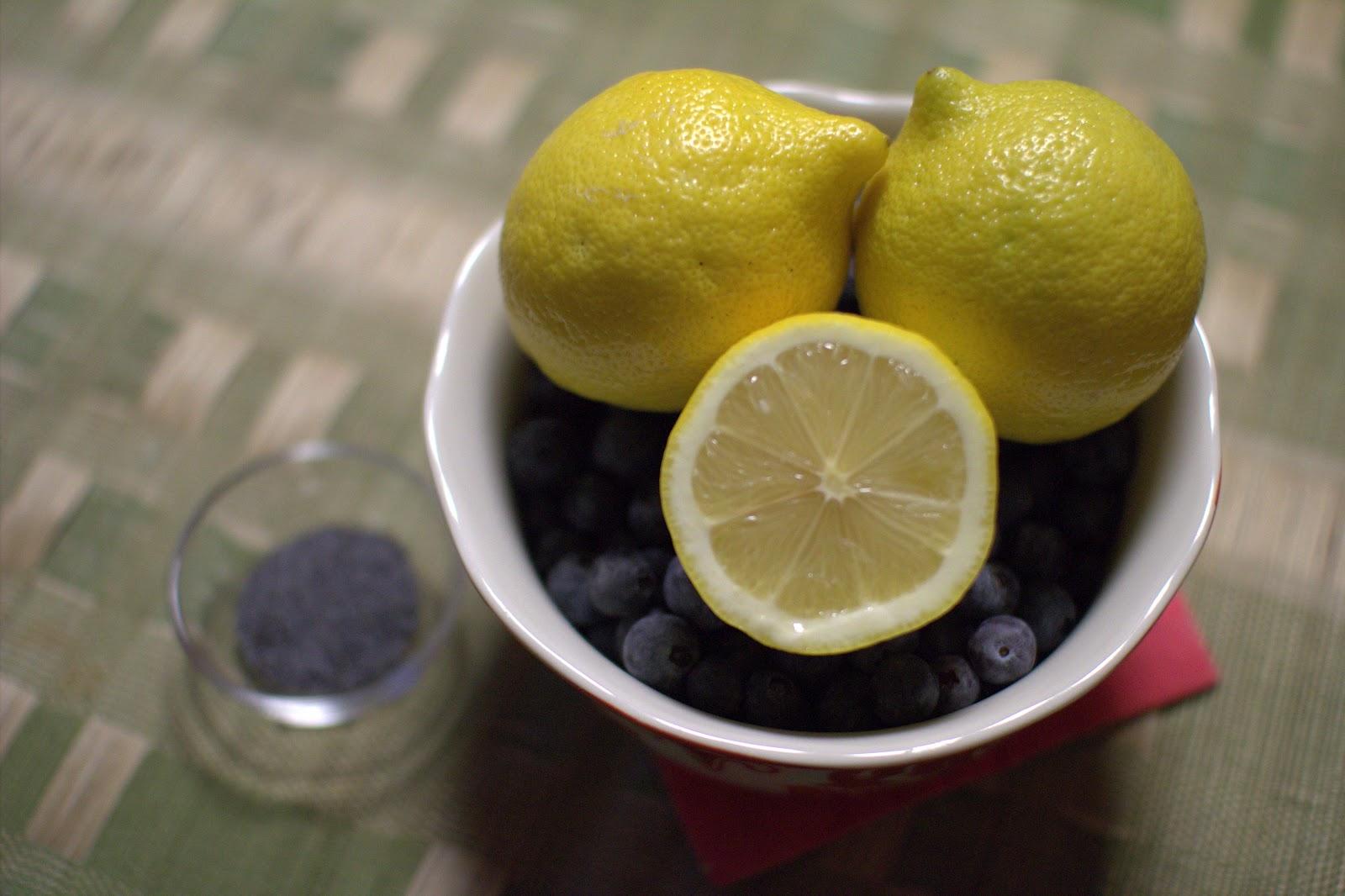 Ina Garten Lemon Cake With Blueberry Sauce