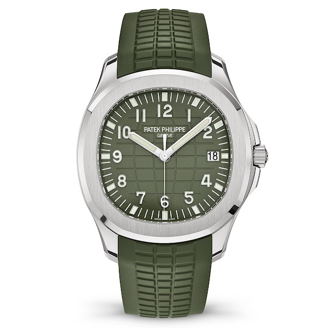 Patek Philippe Aquanaut Khaki Green 5168G-010