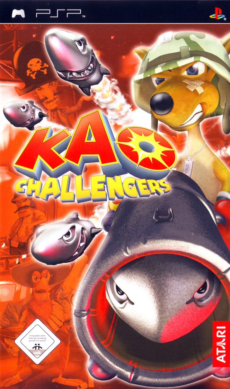 Kao Challengers - PSP - ISO Download
