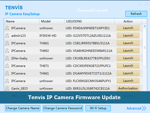 Tenvis IP Camera Firmware