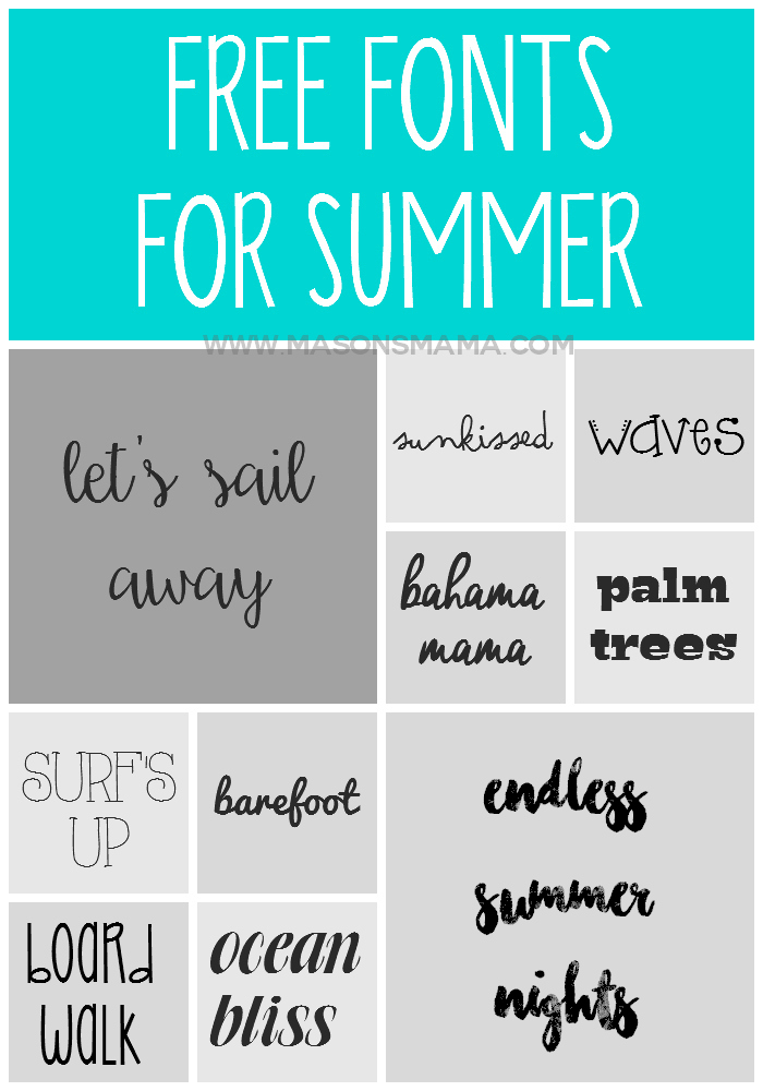Hall Around Texas - Free Summer Fonts