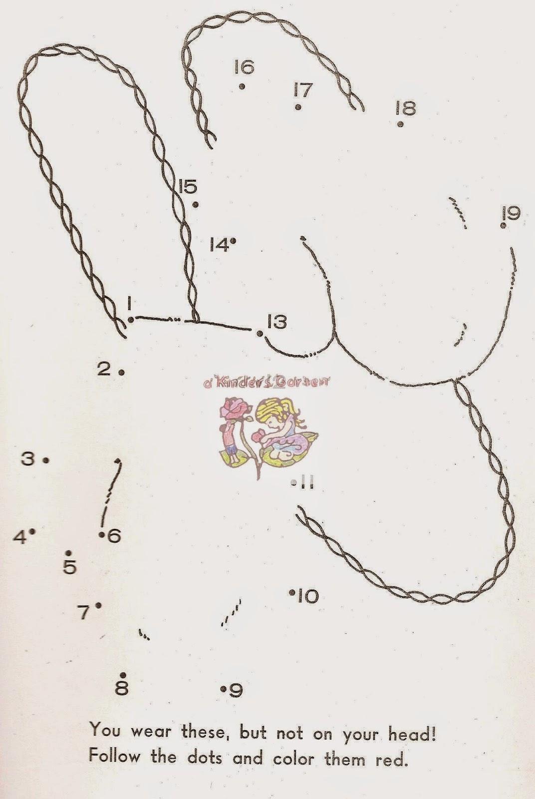 A Kinders Garten Vintage Homeschool Mittens For Three