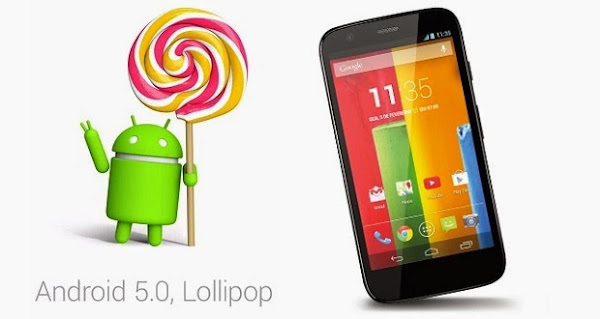 ANDROID 5.0 LOLLIPOP EN MOTO G