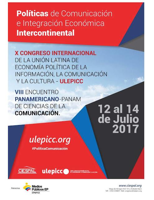 Políticas de Comunicación e Integración Económica Internacional