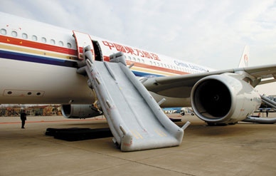 Perpetual Preparedness How To Evacuate An Airplane