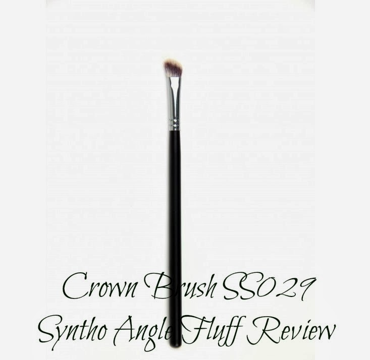 Crown Brush SS029 Syntho Angle Fluff Review