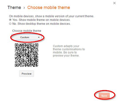 How to Show Any Gadget on Blogger Mobile Template