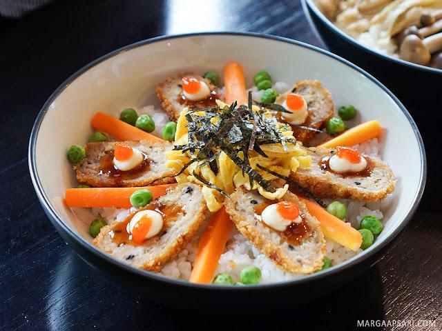 Tsukune Katsu Donburi Sushi Nobu (Shabu Nobu)