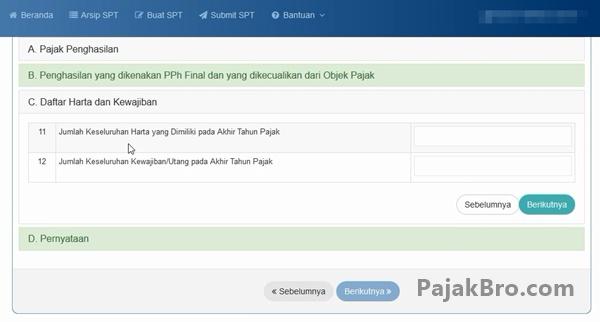 Cara Mengisi SPT Tahunan 1770SS DJP Online 2016