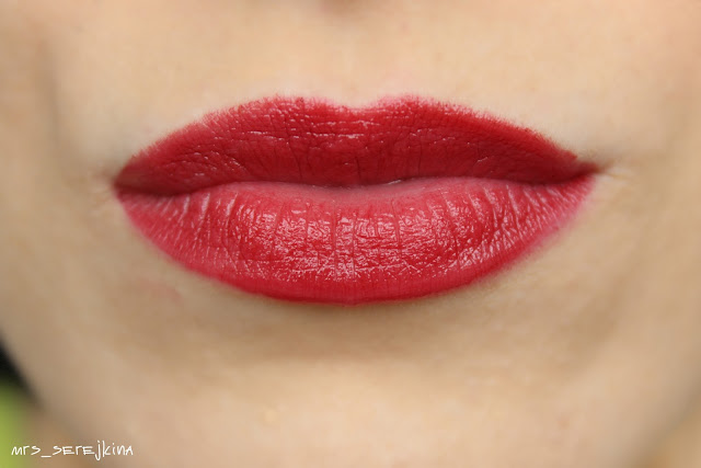 Красный георгин/ Red Dahlia - Avon Ultra Color Indulgence Lip Color