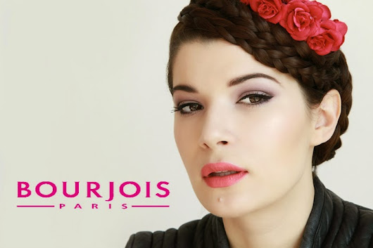Bourjois makeup look