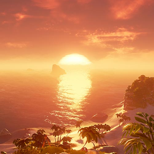 Sea Of Thieves Sunset Wallpaper Engine