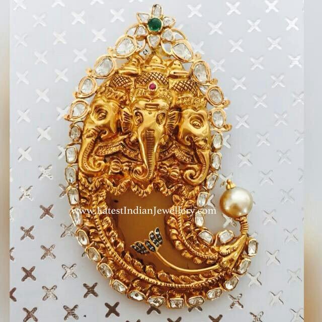 Ganesh Puligoru Pendant