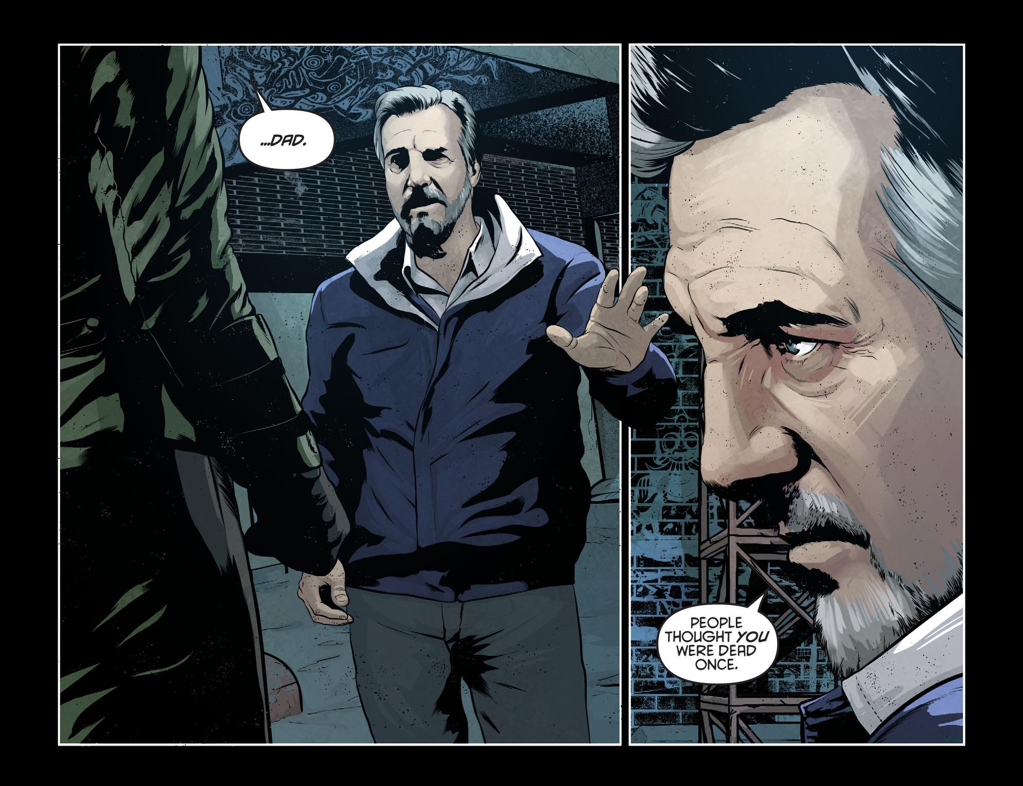 Read online Arrow: Season 2.5 [I] comic -  Issue #7 - 9
