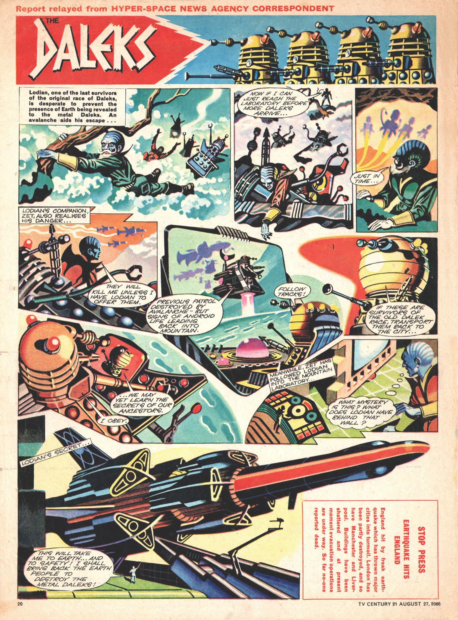 Read online TV Century 21 (TV 21) comic -  Issue #84 - 19