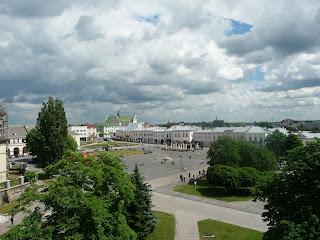 Жолква. Площадь Вечевая, бывшая Рынок