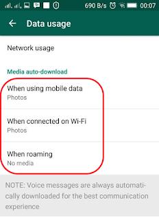 Foto WhatsApp agar jangan langsung download otomatis