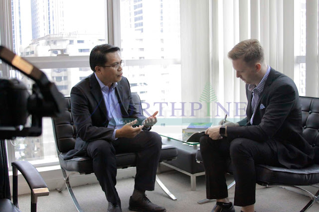 Ferdinand Macabanti (left) and Cheyenne Hollis (EIC - Dot Property Co., Ltd) talk about NorthPine's current and future efforts to change the real estate game in the South.