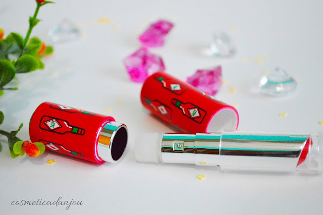 Etude House Dear My Glass Tinting Lips Talk RD302 + Case No.9 Review