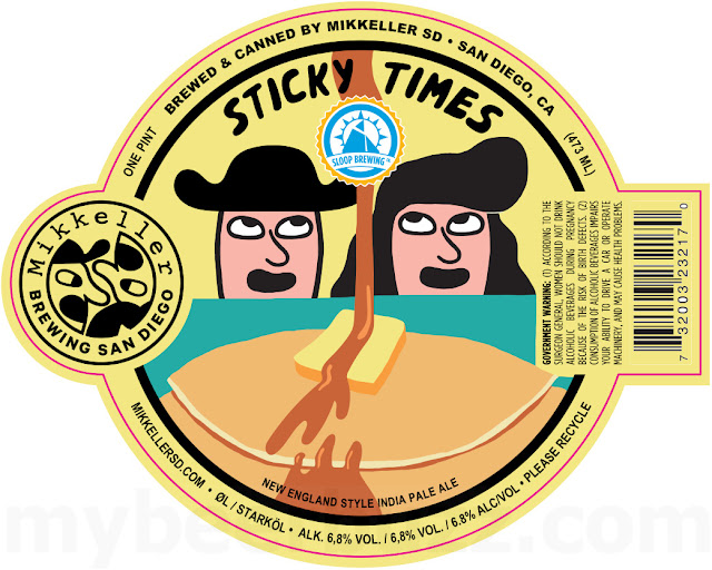 Mikkeller San Diego & Sloop Brewing Collaborate On Sticky Times