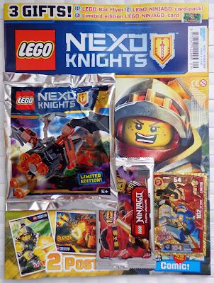 LEGO Nexo Knights Magazine Issue 09