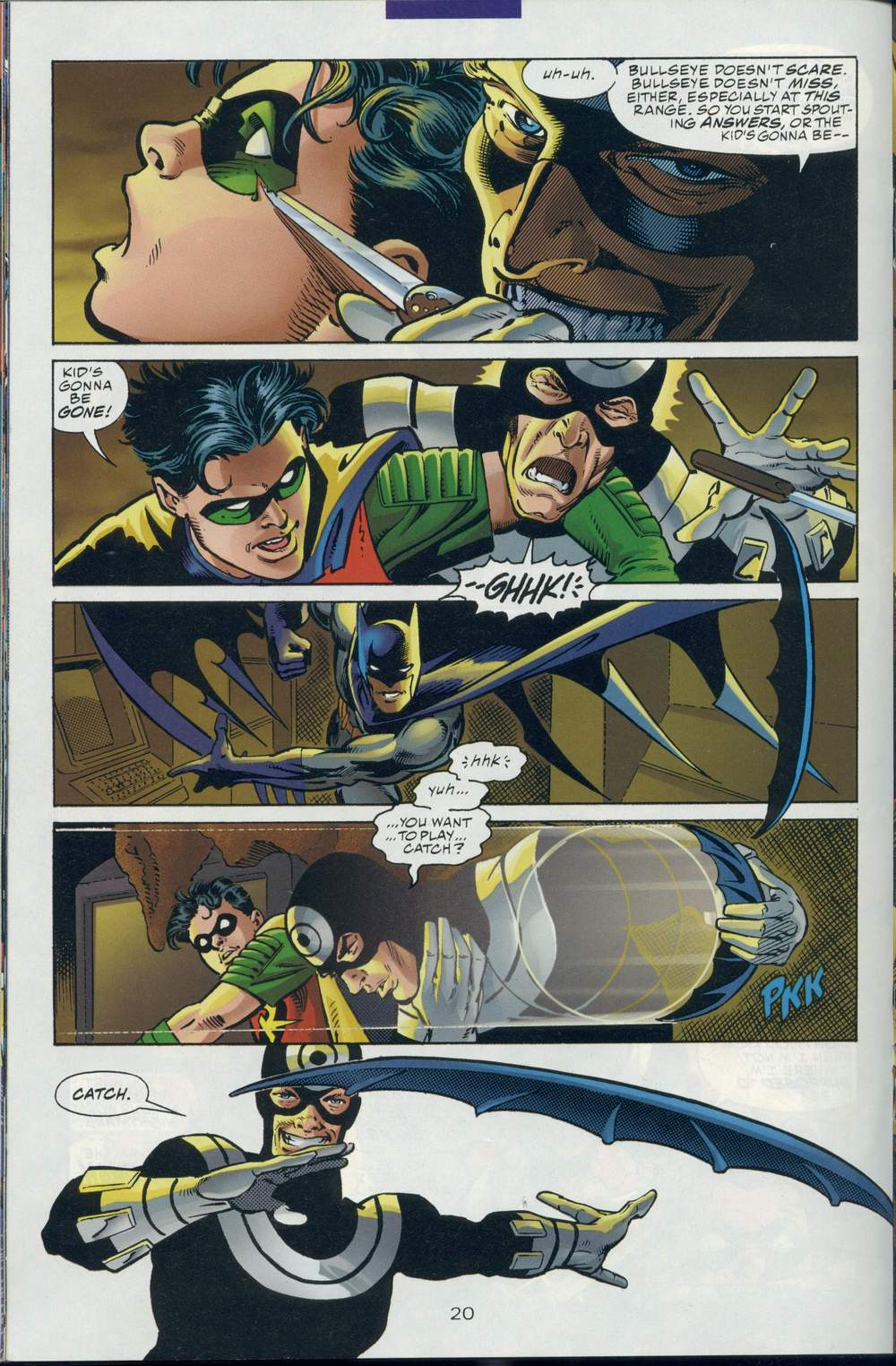 Read online DC Versus Marvel Comics comic -  Issue #1 - 22