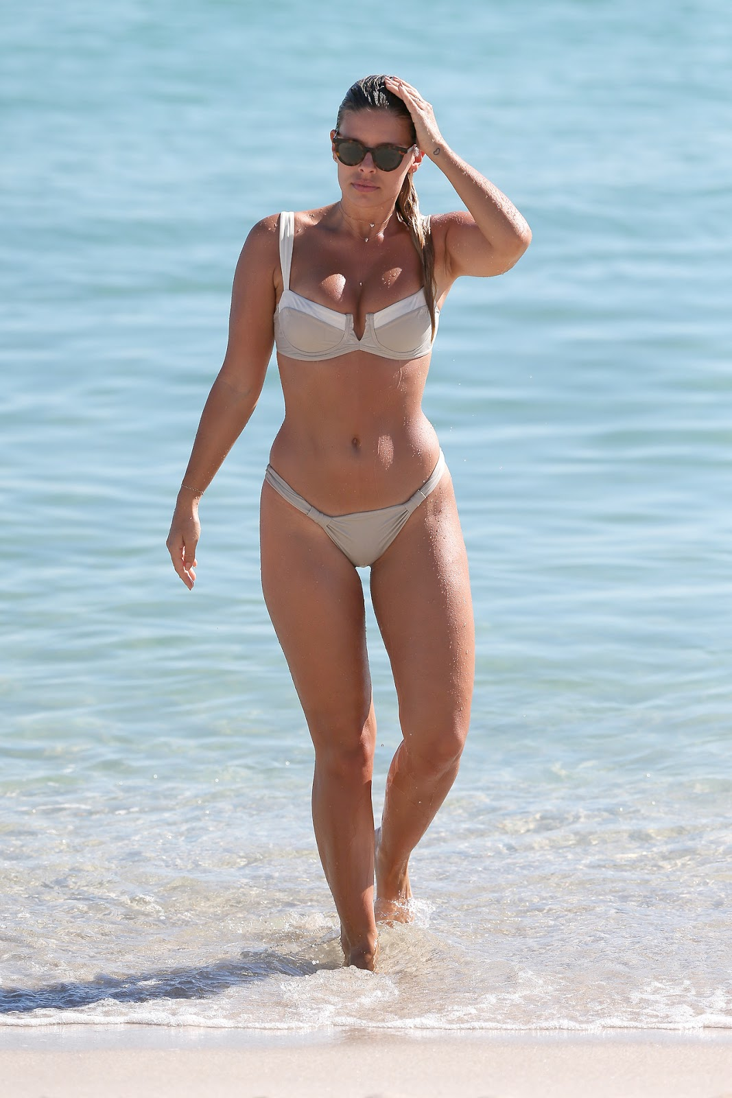Natasha Oakley on Miami Beach