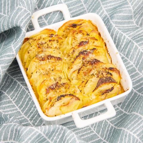 Potato-Pear Casserole